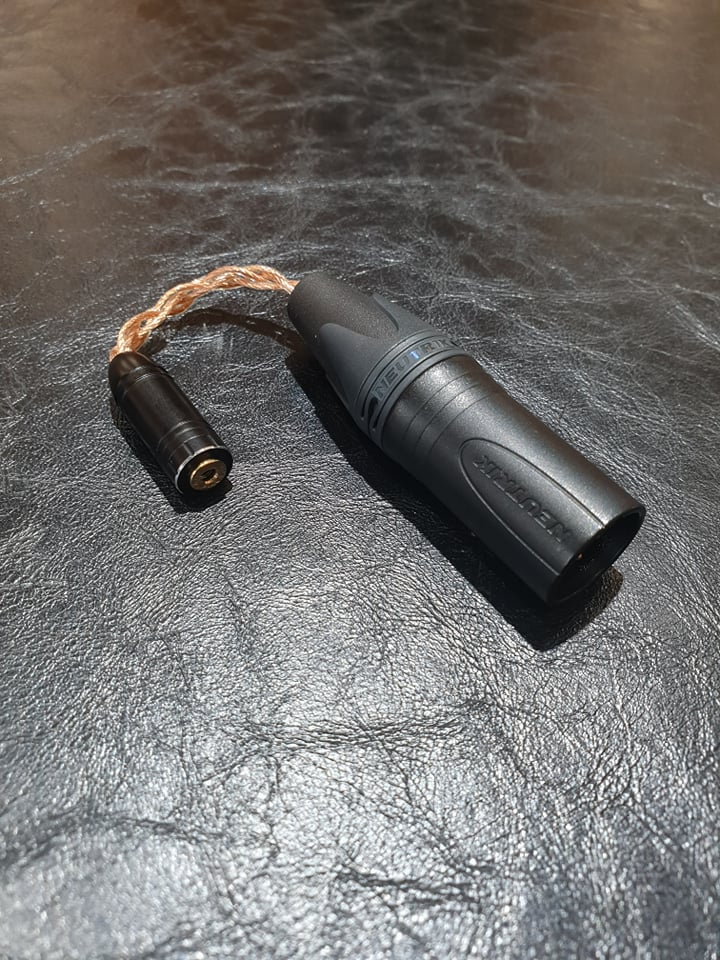 Cáp XLR425 Balance 2.5mm to 4pin