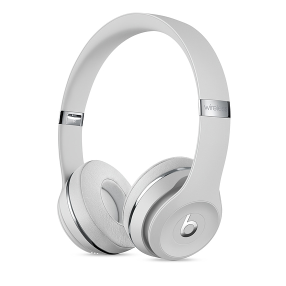 Beats Solo 3 Wireless Satin Silver