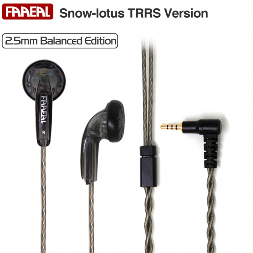 FAAEAL Snow Lotus TRRS Vesion 2.5mm