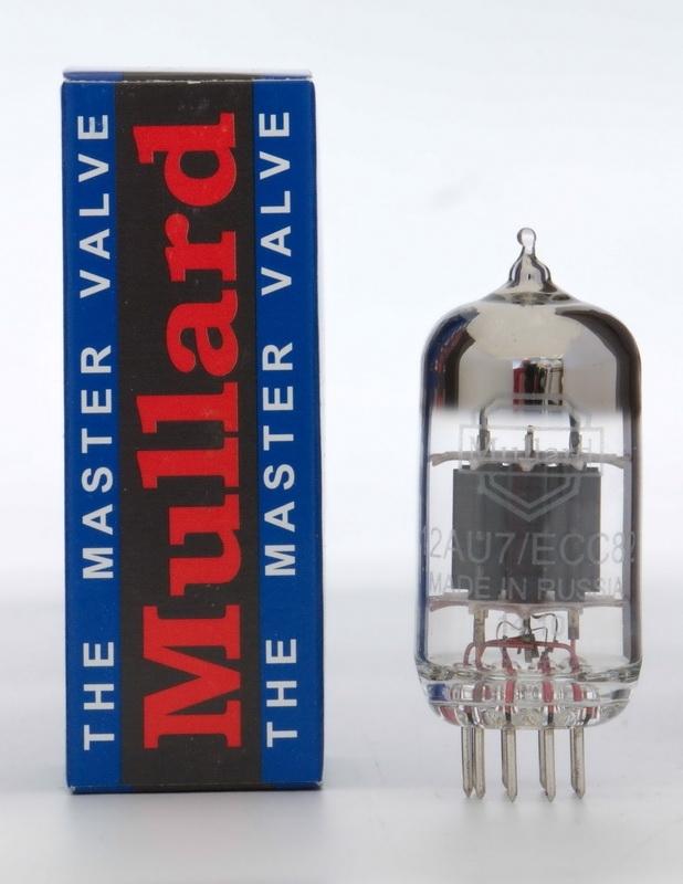 Tube Mullard 12AU7/12AX7