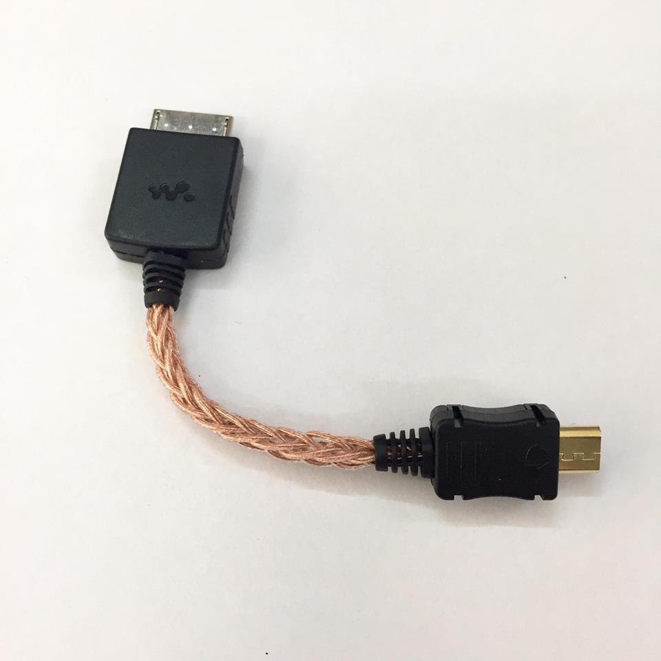 Cáp Đồng OTG Sony Walkman to Micro USB