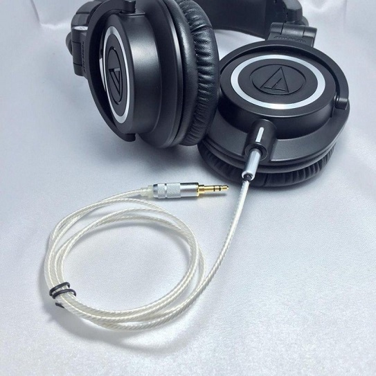 Cáp Bạc Audio Technica ATH-M50X/ M40X