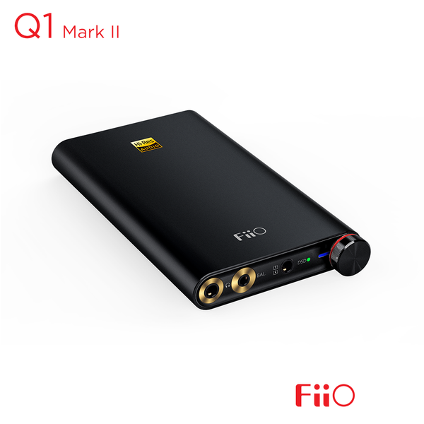 FiiO Q1 Mark II Portable USB DAC Amplifier