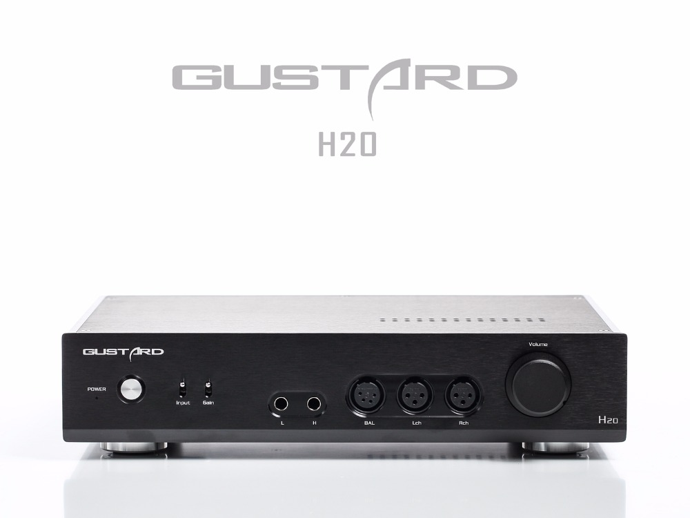 Gustard H20 Balanced Class A Headphone Amplifier Pre Amplifier