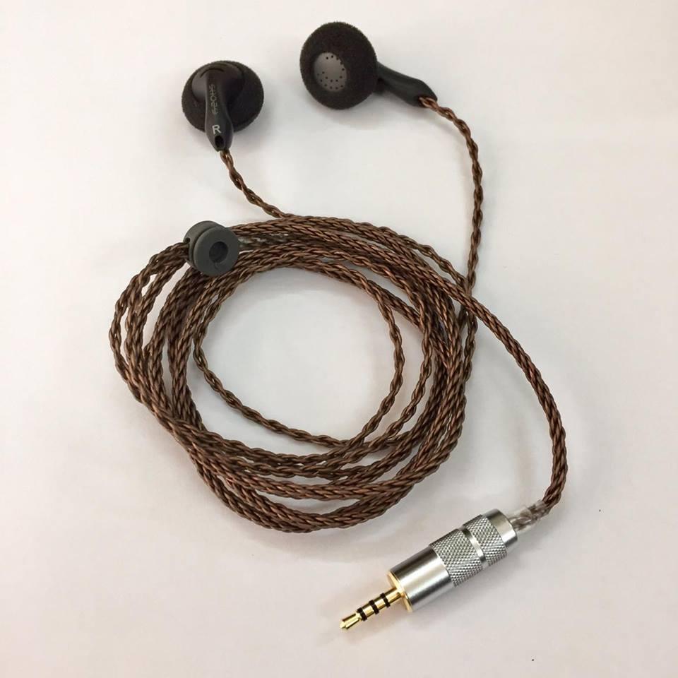 Tai nghe SHOZY BK Balance 2.5mm TRRS