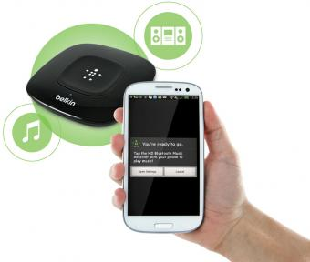 Belkin HD Bluetooth Music Receiver G3A2000 Full Option
