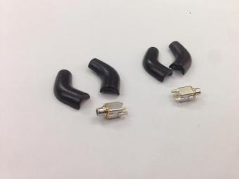 Connectors tai nghe Shure 90 độ