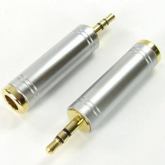 Giắc chuyển 6.3 to 3.5mm cao cấp