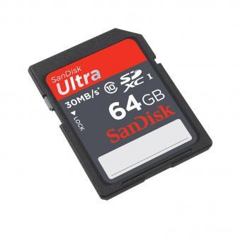 Thẻ nhớ SDXC Sandisk Ultra 64G Class 10 48 MB/s