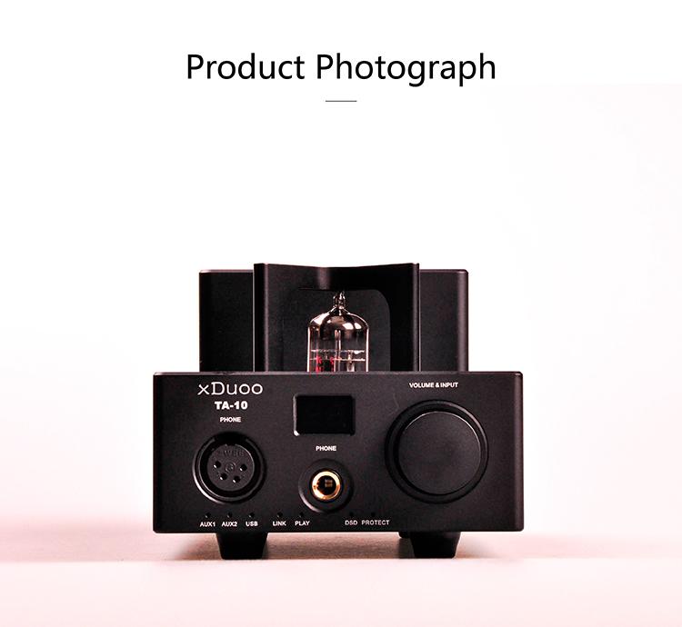 xDuoo TA10 Tube Headphone USB DAC&Amplifier