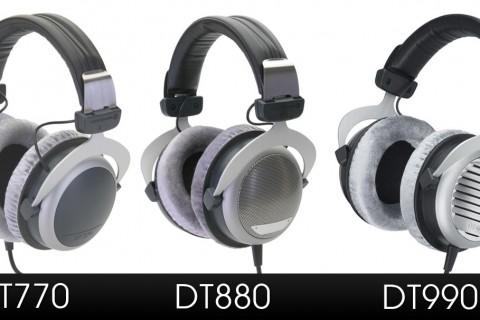 So sánh Beyerdynamic: DT770, DT880 và DT990
